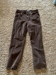 The North Face ~CORDUROY~ PANTS SLACKS BROWN SZ MEN'S 38 Long