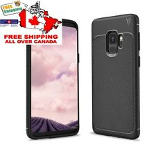 Samsung Galaxy S9 phone Case Shockproof anti drop back cover (ONLY IN BLACK)