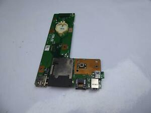 ASUS A52J Powerbuchse USB LAN SD Board 60-NXMDC1000-E01 #2390