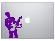 """Purple Prince the Icon Singer Musician guitar player song writer decal 6"""" Purple"""