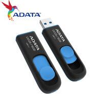 ADATA UV128 16GB 32GB 64GB USB 3.1 Capless Design USB Flash Pen Drive BLACK