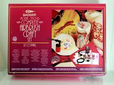 Badger 350-6 Complete Airbrush Craft Set Brand New