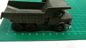 Aveling Barford 690 Dump Truck White Metal Heavy Truck Lorry Army Military