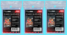 300 ULTRA PRO Soft CARD SLEEVES NEW No PVC Penny Sleeve Sports Trading Baseball