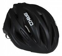Casco bici corsa-MTB Briko Shire nero opaco matt black bike helmet L