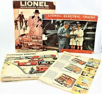 Vintage Lionel Trains Lot Catalogs & Ephemera Railroad Men Buy For Their Boys
