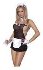 Süßes Zimmermädchen Maid Kostüm Exclusive - 5-teilig - Schwarz-Weiß Dienstmädche