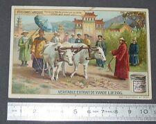 CHROMO LIEBIG OXO 1908 FETES ANTIQUITE FETE DU PRINTEMPS CHINE CHINA