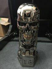 1:1 Terminator T2 Figure T800 Skull Endoskeleton Life-Size Bust Replica NEW LED