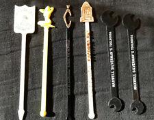 Vintage Bar Stirrers Swizzle Sticks; Panama, Florida, Atlantic City