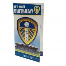 Leeds United FC Happy Birthday Card Present Gift Xmas New