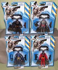 "BATMAN SET Batarang Crusader Stealth Ultra Blast Dark Knight Rises 4"" Figure"