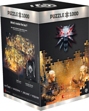 THE WITCHER 3 PUZZLE JIGSAW PLAYING GWENT + POSTER 1000 pcs NEW CIRI GERALT