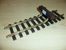 LGB G Scale Track System - Old Timer Track Bumper No. 1000 - 1990 Lehmann - NEW