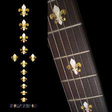 Fret Markers Inlay Sticker Decal Guitar & Bass Neck - Fleur de Lys -WP
