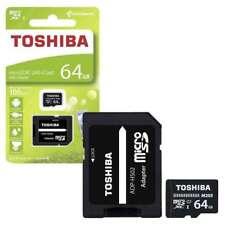 Toshiba M203 Micro SDXC UHS-I U1 Memory Card with SD Card Adapter 64GB NEW!