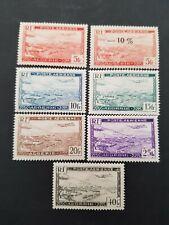FRANCE COLONIE ALGERIE POSTE AÉRIENNE PA N°1 A 6 NEUF * MH 1946 COTE 5,50€