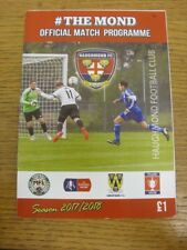 30/12/2017 Haughmond v Shawbury United  . Thank you for viewing this item availa