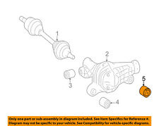 MERCEDES OEM GLE350 Front Suspension-Differential Assembly Insulator 1663330814