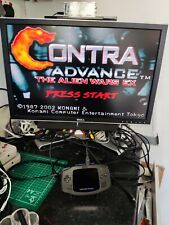 Game Boy Advance GBA TV Out Backlit IPS Screen Back