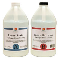 EPOXY RESIN 1 Gal kit for Super Gloss Coating