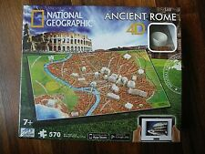4D Cityscape Time Puzzle National Geographic Ancient Rome 570-piece NEW!