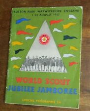 More details for 1957 the world scout jubilee jamboree indaba & moot baden powell scouts scouting