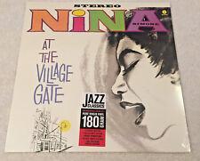 "NINA SIMONE:""At The Village Gate"": 2014 NEW LP REISSUE REMASTERED 180g VINYL"