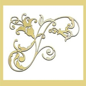 Sizzix Thinlits Die GRACEFUL FLOURISH #661740 by Pete Hughes 2014 Discontinued