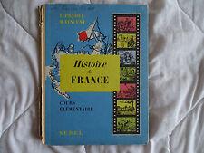 ANCIEN LIVRE SCOLAIRE HITOIRE DE FRANCE SUDEL 1957