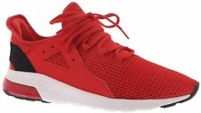 Puma Mens Electron Street Tech Red Sneakers N2516 Size 9.5 M *