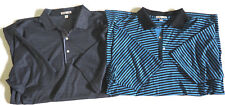 Lot of 2 PETER MILLAR Golf Polo Shirts - XL