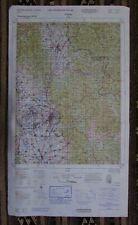 Map of Pristina, Kosovo Region, Serbia - Ministry of Defence, UK 1999