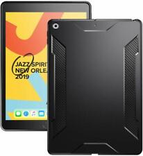 for Apple iPad 10.2 2019 Case,Poetic Karbon Shield Slim Fit Shock Absorbing