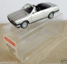 MICRO WIKING HO 1/87 BMW 320 I CABRIOLET GRIS CLARO METAL en box