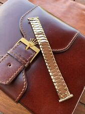Excalibur Rolled Gold Expandable Watch Strap For Vintage Watch 18mm England