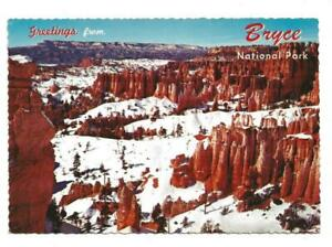 GREETINGS FROM BRYCE NATIONAL PARK, CHROME, UNPOSTED