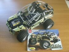 Lego Technic 8466 4x4 Off Roader, complete with instructions, RARE