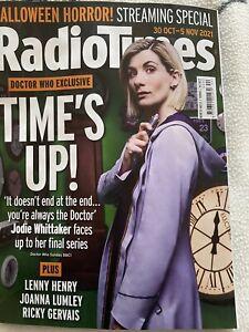 Radio Times Magazine 30/10/2021  Jodie Whittaker Final series