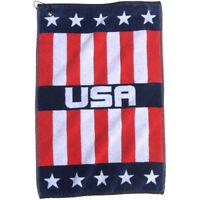 Devant Usa Woven Golf Towel