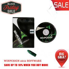 WinPCSign 2012 Basic Software for Vinyl Cutting Cutter Plotter Graphic Arts