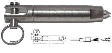 Embout Sertissage Manuel 7mm Parafil Filière Terminaux inox A4 - 316