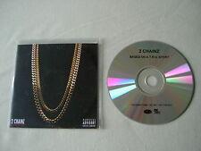 2 CHAINZ Based On a T.R.U. Story promo CD Kanye West Nicki Minaj John Legend