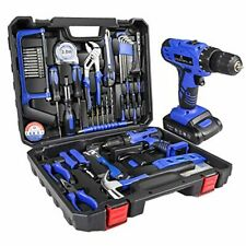 21 Volts Power Tools Combo Kit with Professional Household Hand Tools Drill Set