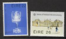 Irlanda MNH 1983 sg552-553 Dublino Camera di commercio & Bank of Ireland Set di 2