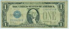 1928B United States Silver Certificate $1 Bill Blue Stamp