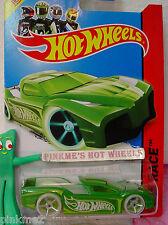 Case E 2014 Hot Wheels HYPERTRUCK #186 US∞Green; Glow in Dark Wheels∞Night Storm