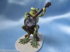 Hagen Renaker Banjo Player Frog 3180 Figurine Ceramic Miniature NEW