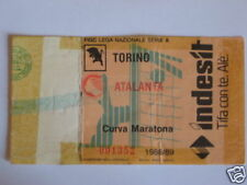 TORINO - ATALANTA BIGLIETTO TICKET 1988 / 89