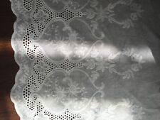 Cotton Embroidery Lace Fabric DIY  Material Width 32 cm 1 Yard